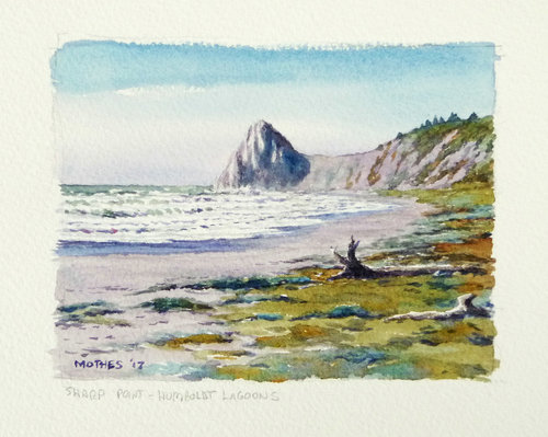 Watercolor Demonstration and Painting Session with Lee Mothes